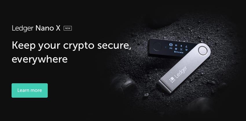 Ledger Nano X kopen bestellen
