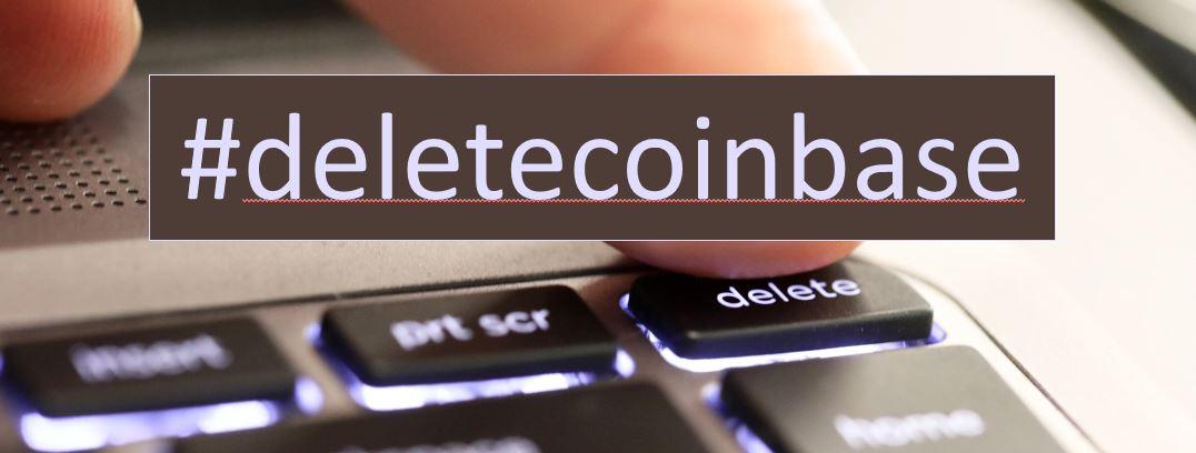 Coinbase account verwijderen of afmelden