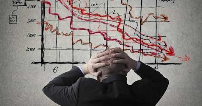 Verwachting bitcoin en een financiële crisis