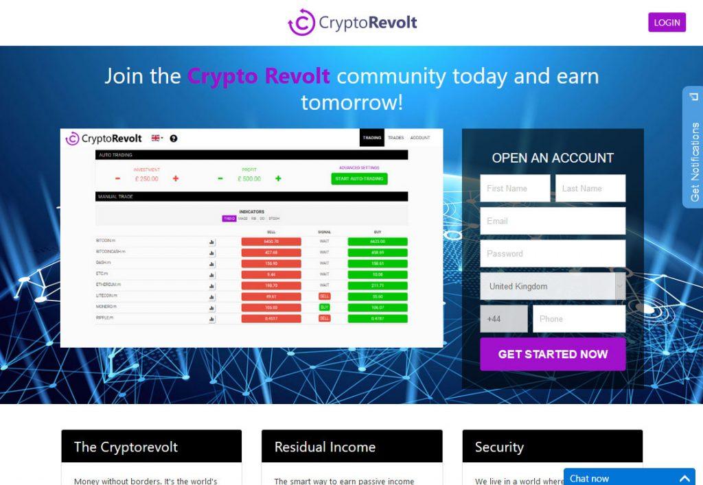 crypto revolt ervaring