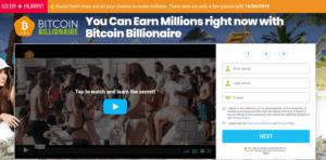 Registratieformulier Bitcoin Billionaire