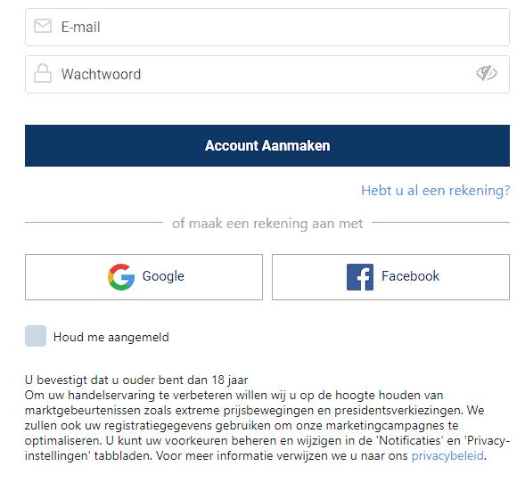 plus500 account aanmaken