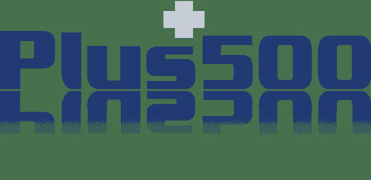 plus500 logo kleur BTC crypto
